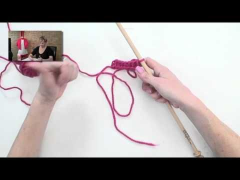 Afghan crochet video