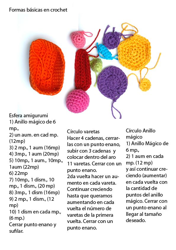 LaNaynay: Tutorial Formas básicas de crochet | CrochetHolic ...