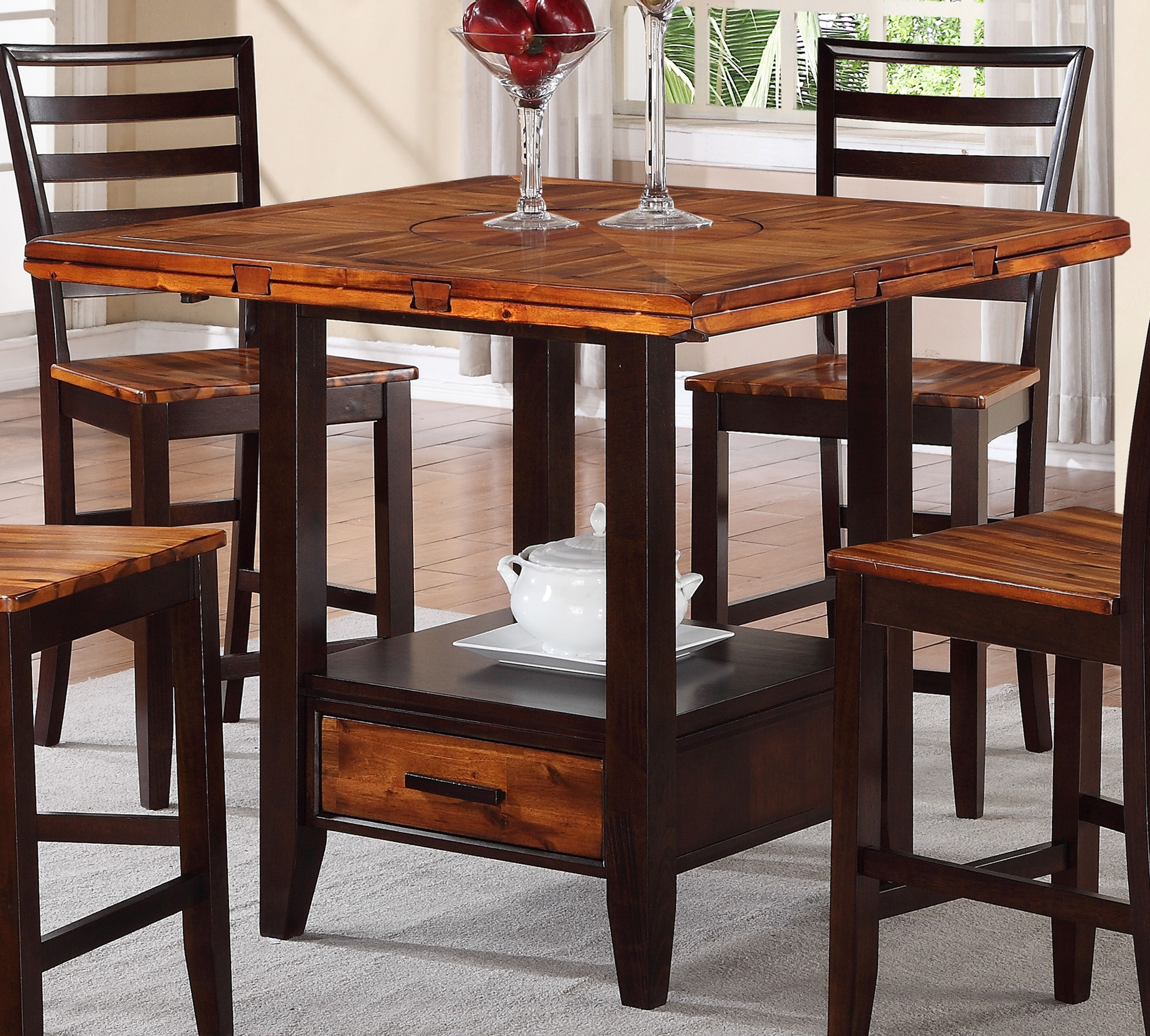 Holland House Dining Room Two Tone Pub Set 946271