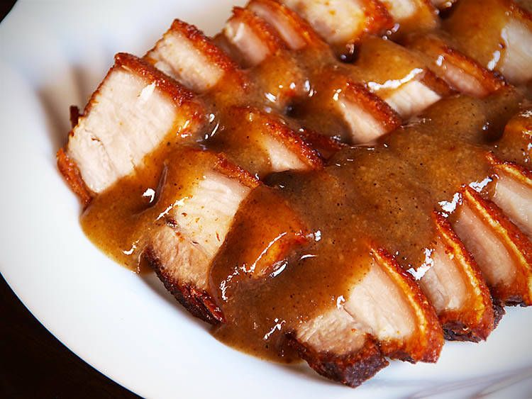 Lechon Kawali Recipe Crispy Fried Pork Belly Recipe Food Lechon Kawali Lechon