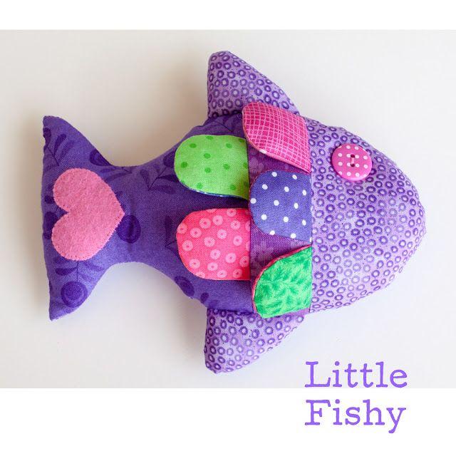 Enjoyable Little Fishy Bean Bag Soft Toy Pattern And Tutorial I Sew Inzonedesignstudio Interior Chair Design Inzonedesignstudiocom