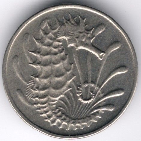 Singapore 10 Cents 1973