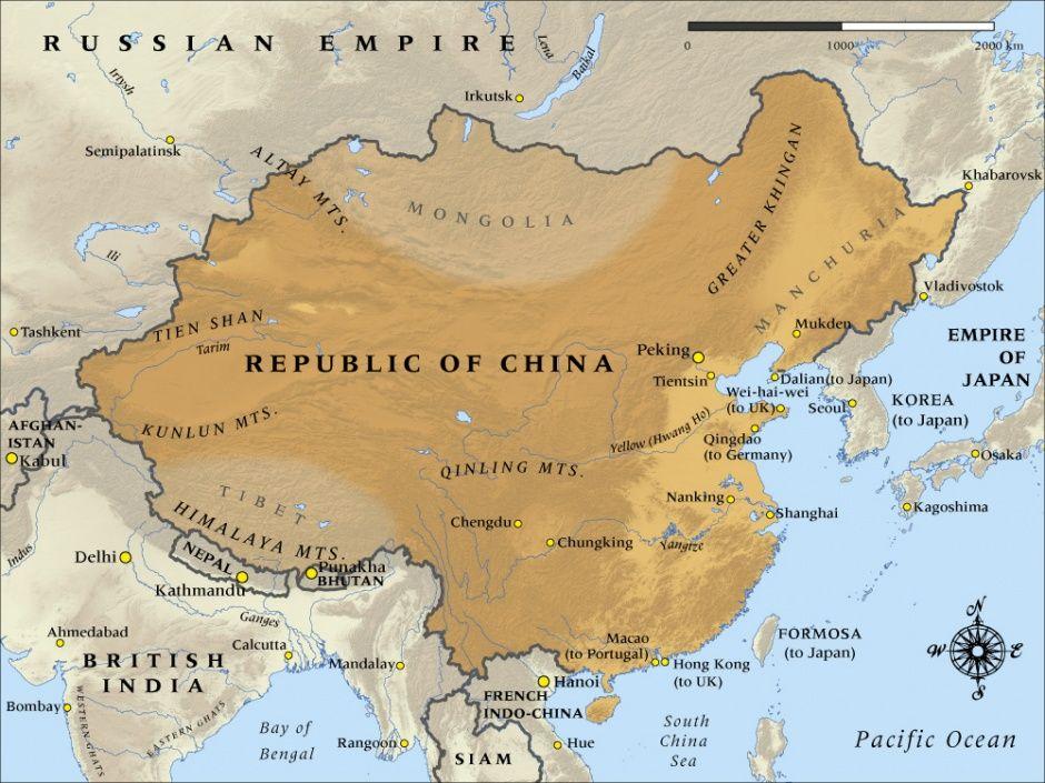 Fall of the Beiyang Government Beiyang China Pinterest - copy map japan world war 2