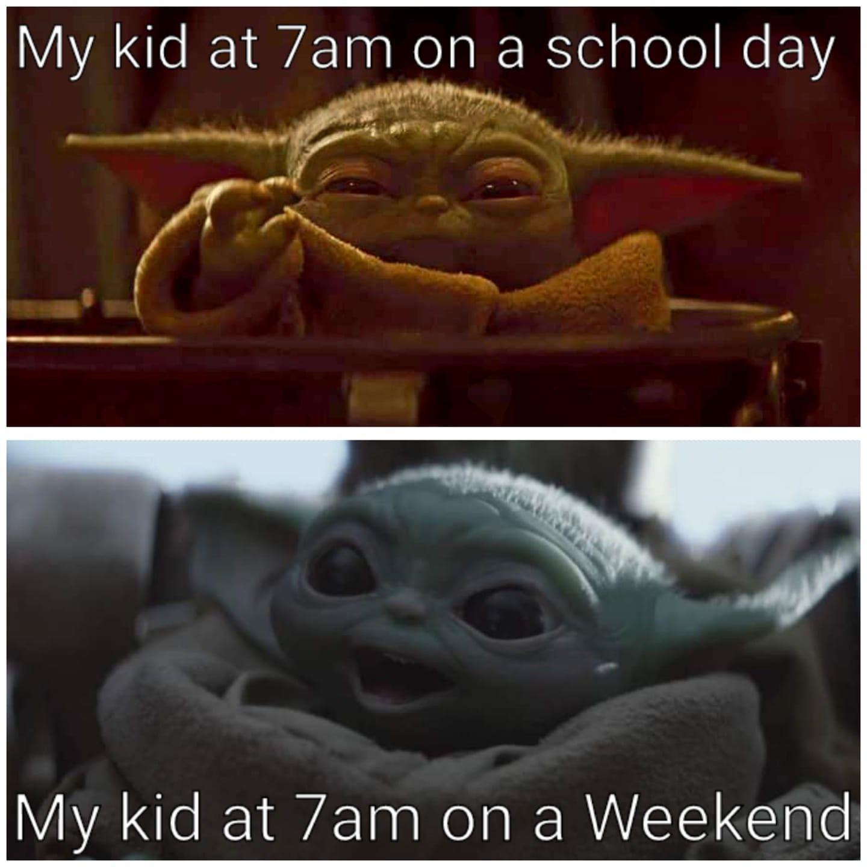 Baby Yoda Funny Baby Memes Yoda Funny Yoda Meme