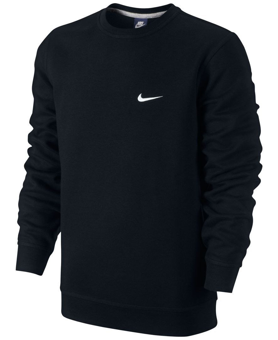 The Nike Club Swoosh Men S Crew Has An Incredibly Soft Interior For Warmth And A Worn In Feel Cotton Polyester Ropa Masculina Ropa Casual Hombres Ropa Nike [ 1080 x 884 Pixel ]