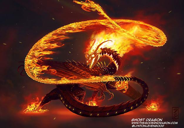 Ghost Rider Dragon