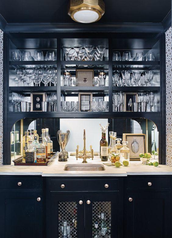Room Envy: A Hallway Turned Stunning Bar