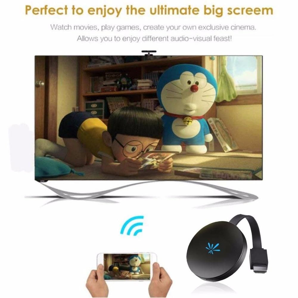 Video WIFI Display Dongle TV Wireless HDMI HD Screen Mirroring Adapter Receiver