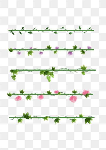 Vine Clipart On Straight Line Google Search Line Flower Vines Clip Art