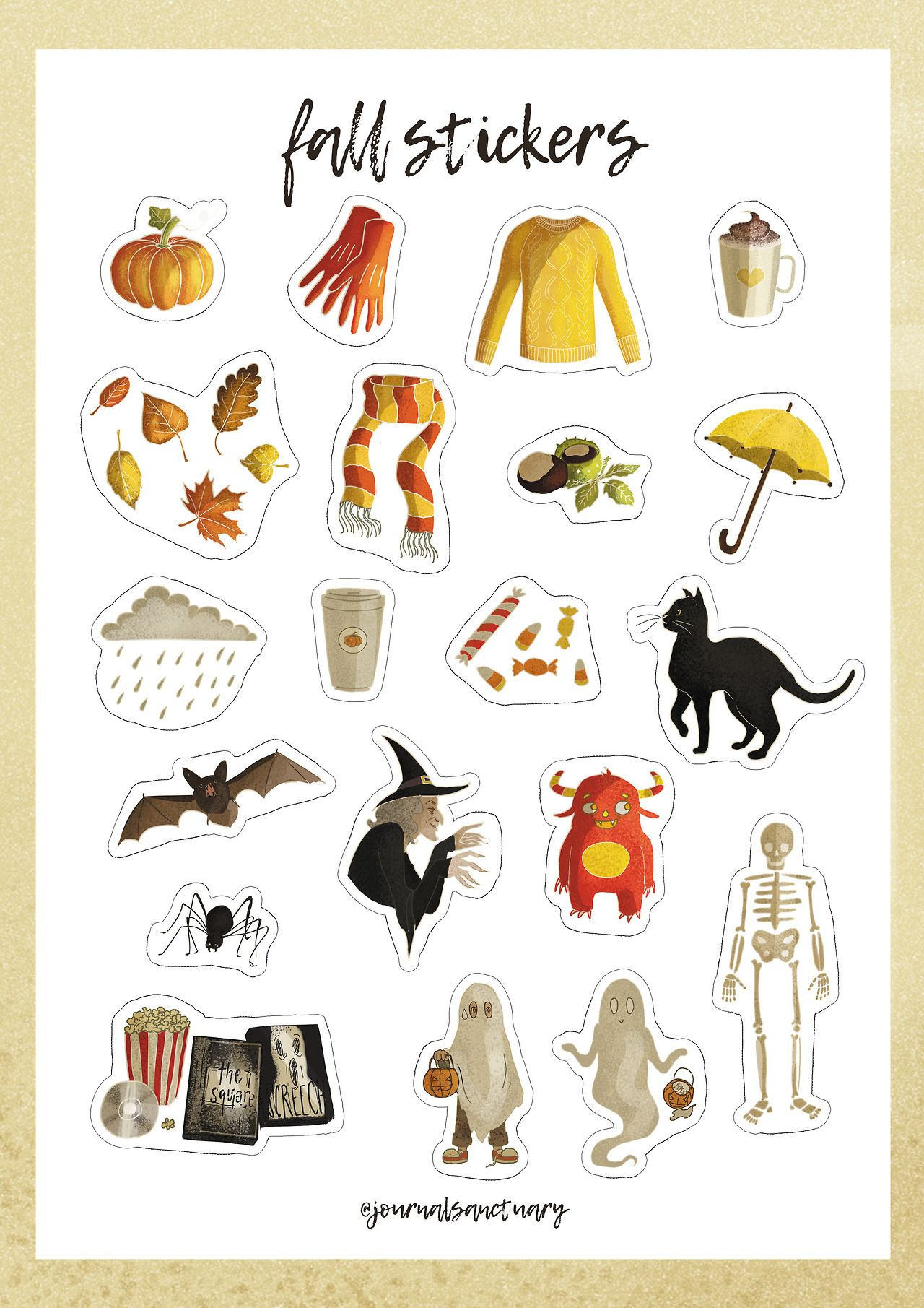 Halloween Free Printable Stickers