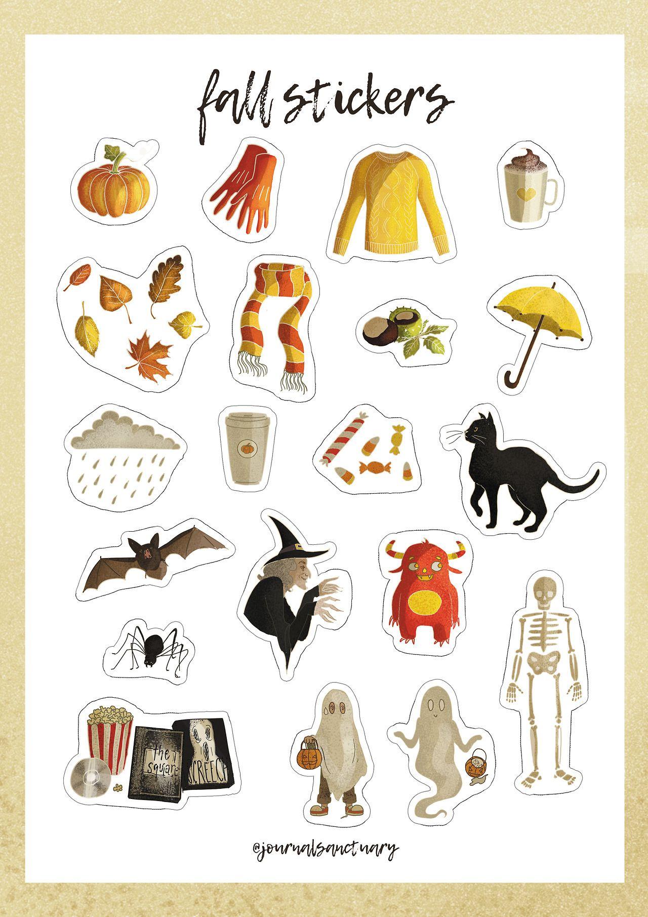 Halloween Free Printable Stickers