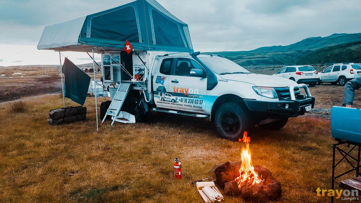 Successful Camper Designs The Best Shelter System Slide In