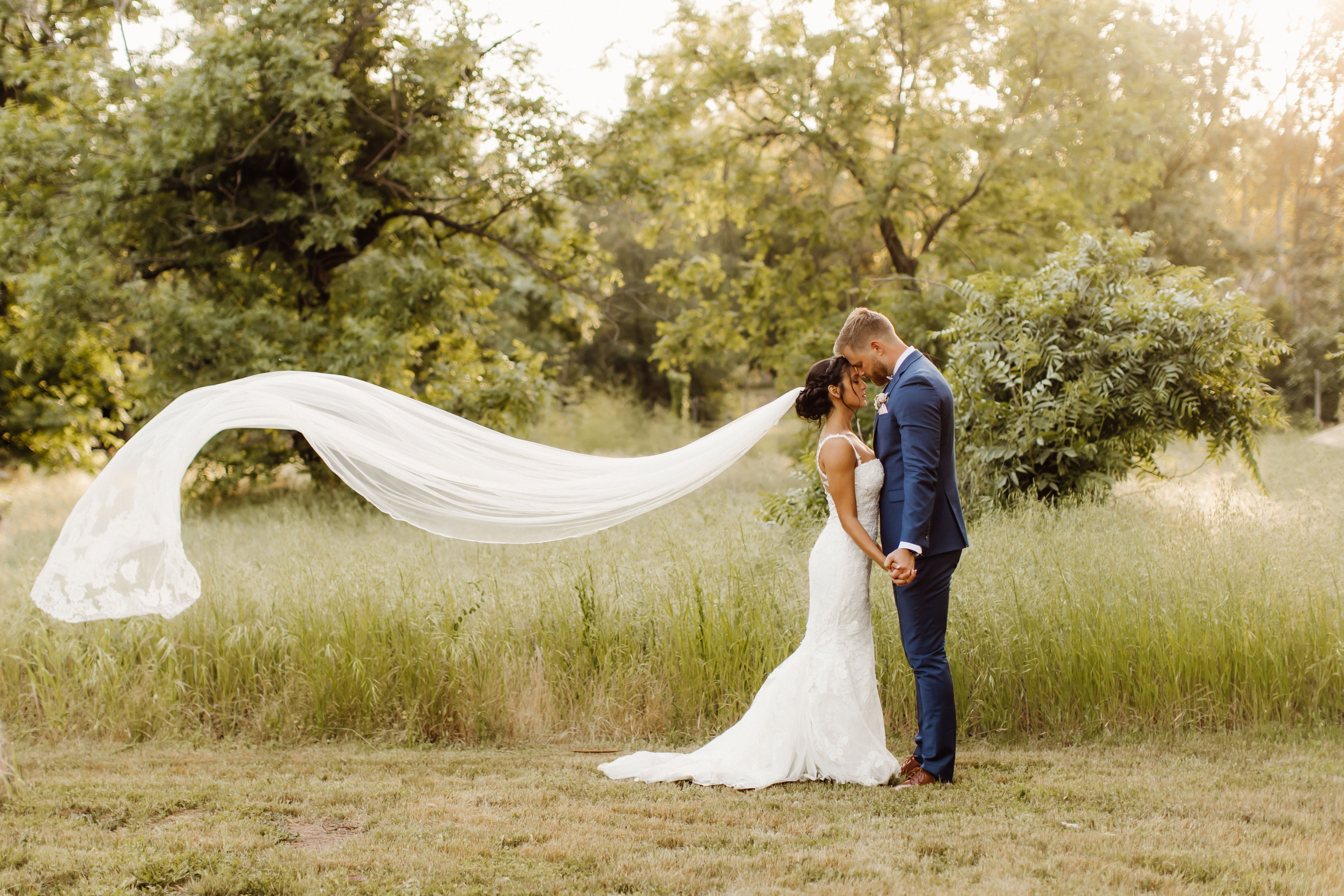 Cathedral veil in the wind bridal portraits   Bridal portraits ...