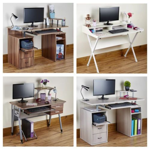 Computer Desk Pc Table Folding Home Office Furniture