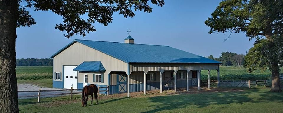 Equine Building Profile Use Horse Barn With Deluxe Dutch