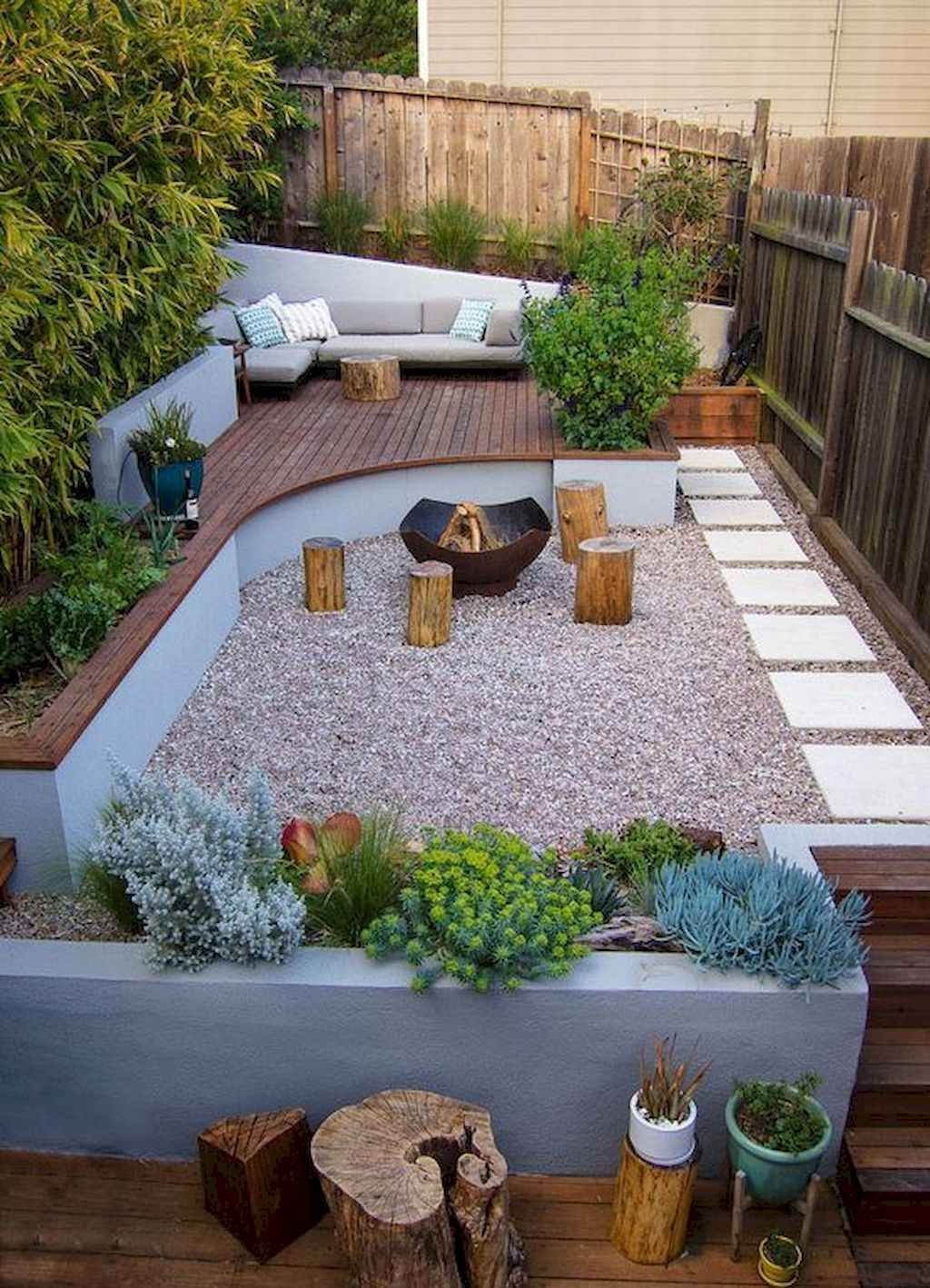 48 cozy backyard seating area ideas in 2020 | Small ...