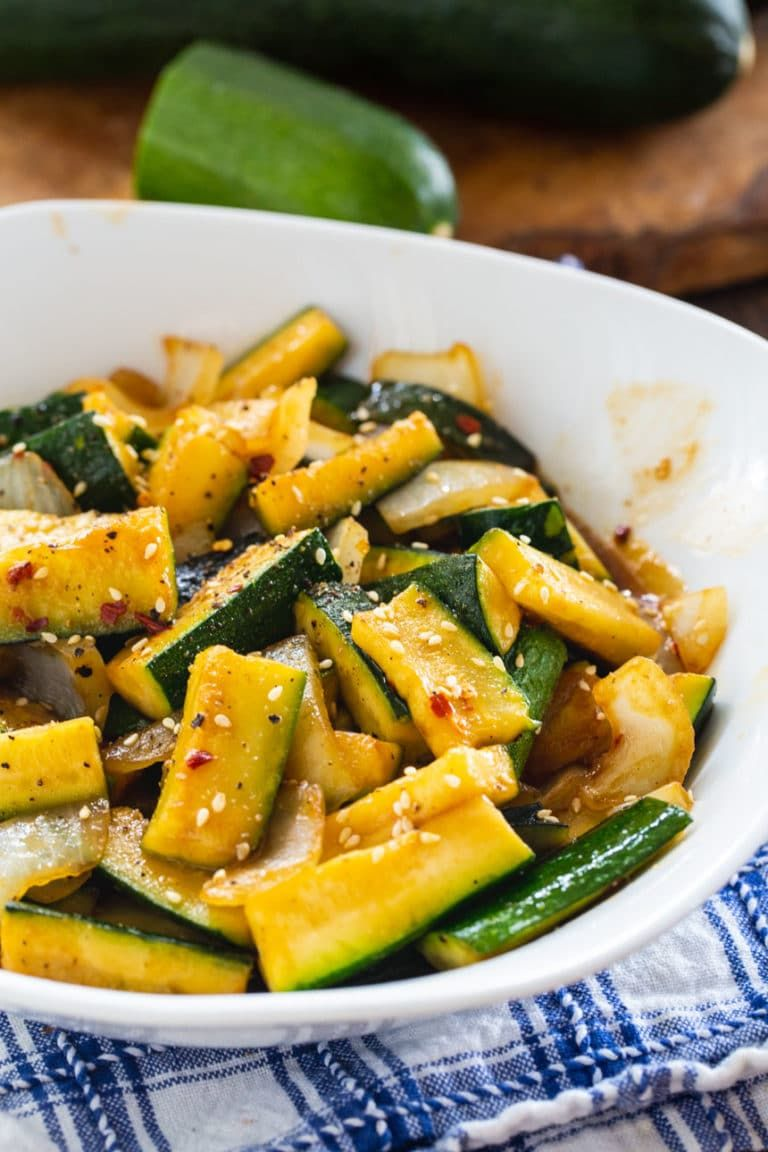 Japanese Zucchini – Spicy Southern Kitchen