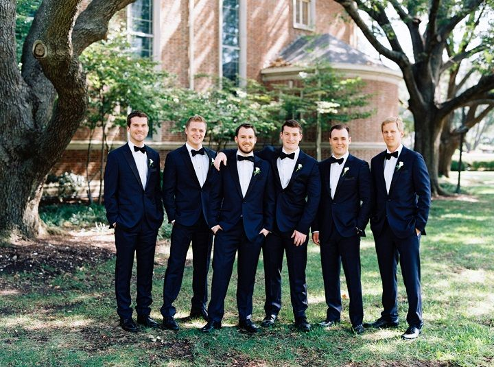 Groom and groomsmen for fall wedding | itakeyou.co.uk