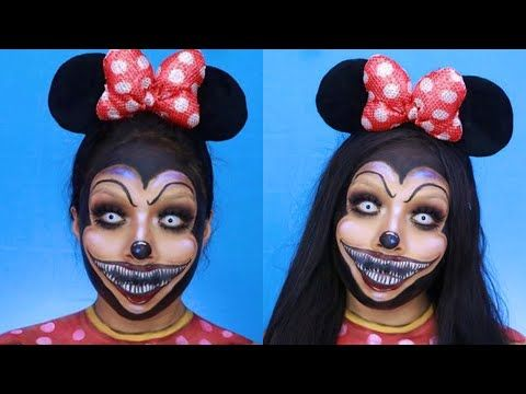 MINNIE MOUSE DE TERROR HALLOWEEN MAKEUP http://makeup-project.ru/2017/10/13/minnie-mouse-de-terror-halloween-makeup/