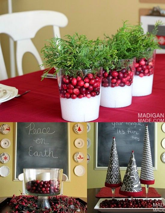 21 beautifully festive christmas centerpieces you can easily diy 21 beautifully festive christmas centerpieces you can easily diy diy crafts solutioingenieria Gallery