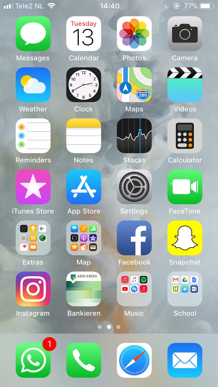 Menu Page Iphone Organization Iphone App Layout Ios App Iphone