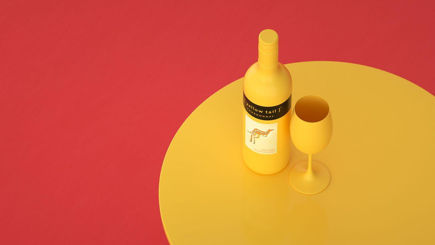Https Www Behance Net Gallery 30179021 Yellow Tail Go To Yellow Tail Wine Yellow Tailed