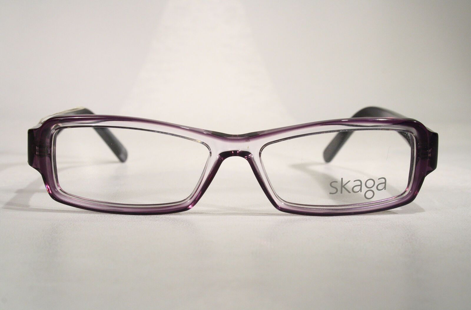 af8a2000cd Women s Slim Small SKAGA Scandinavian Clear Purple Gray Eyeglass Frames  Glasses   eBay (RipVanW)