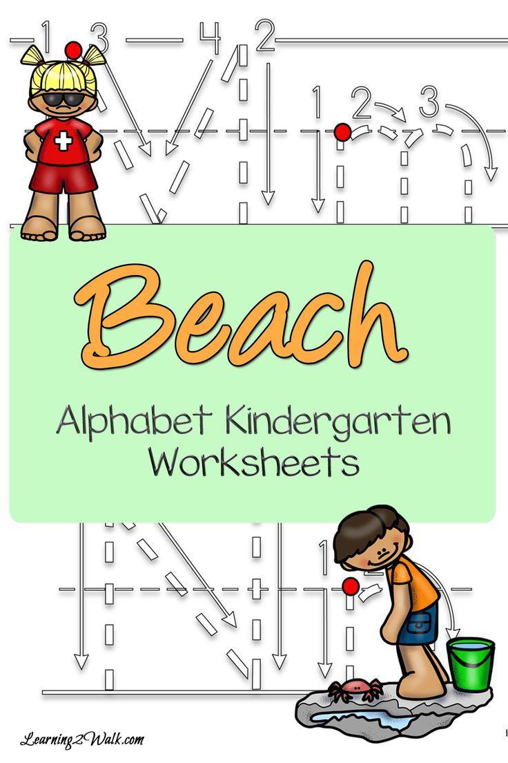 Beach Alphabet Kindergarten Worksheets Alphabet Kindergarten Kindergarten Worksheets Kindergarten [ 1104 x 736 Pixel ]