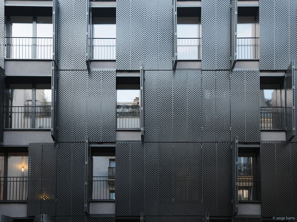 Très 28 best Bardage images on Pinterest | Facades, Facade design and  FI95