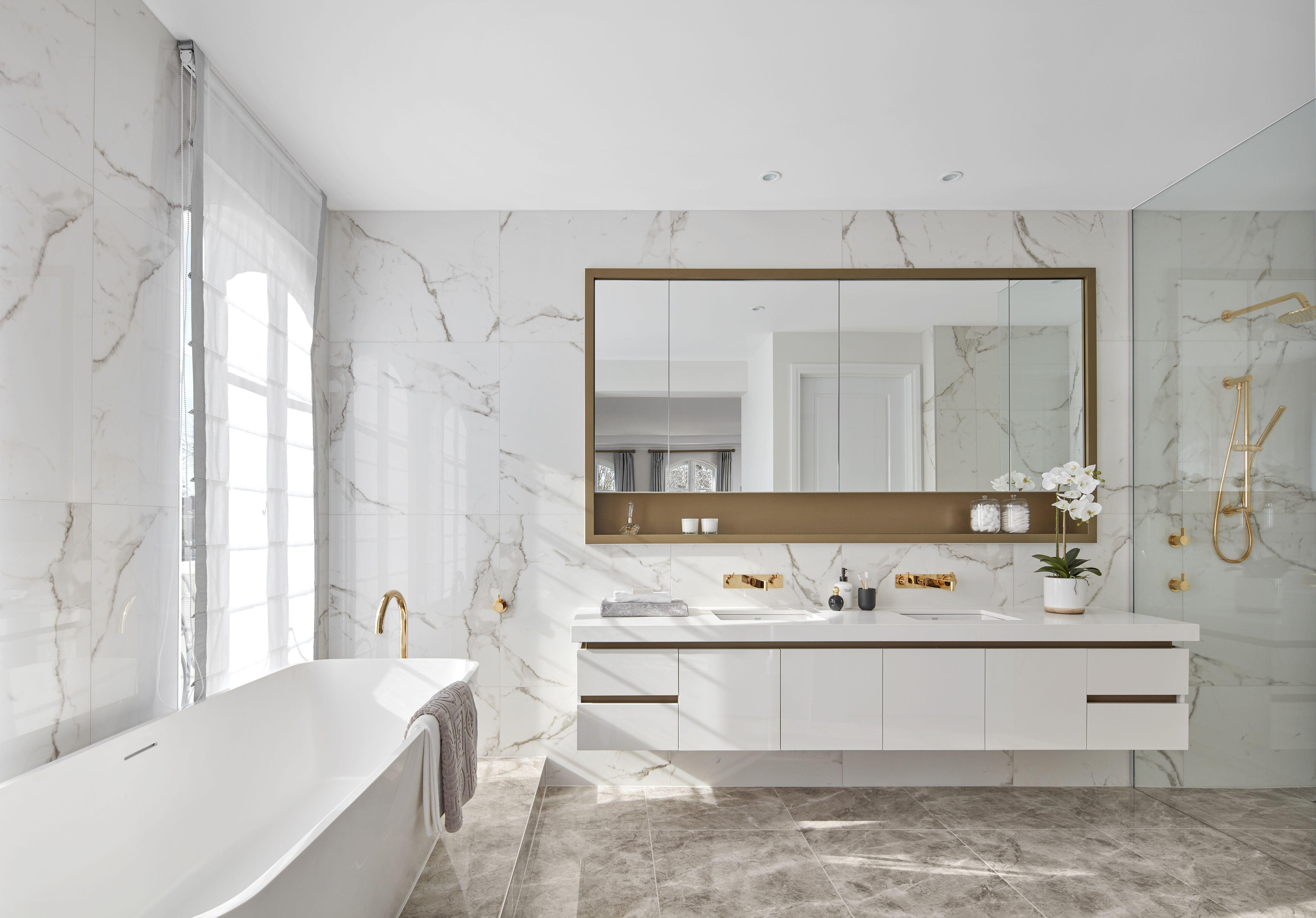 masterbedroom ensuite at la pyrenee  bathroom tile