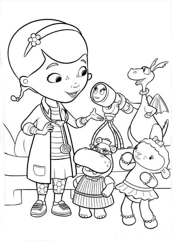 Desenhos Para Colorir Doutora Brinquedos Brinquedos Para Colorir Paginas Para Colorir Da Disney Desenhos Para Colorir