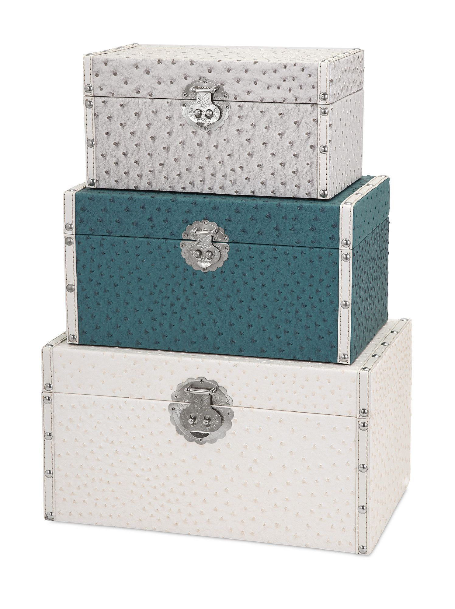 Eleanor 3 Piece Claire Trunk Set