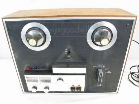 Vintage KLH Model Forty-One Stereo Tape Reel Deck | Vintage