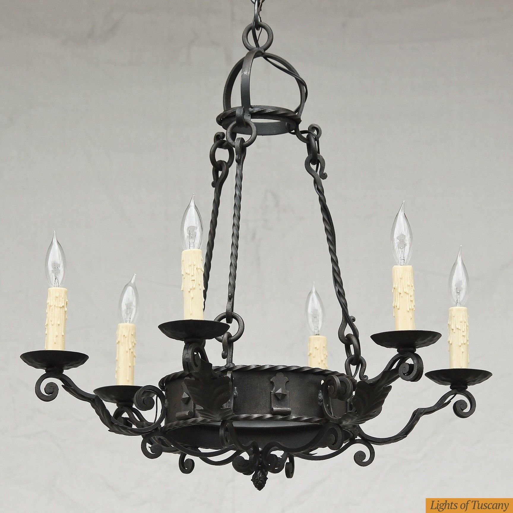Tuscan chandelier candelabrum pinterest chandeliers and ceilings tuscan chandelier arubaitofo Images