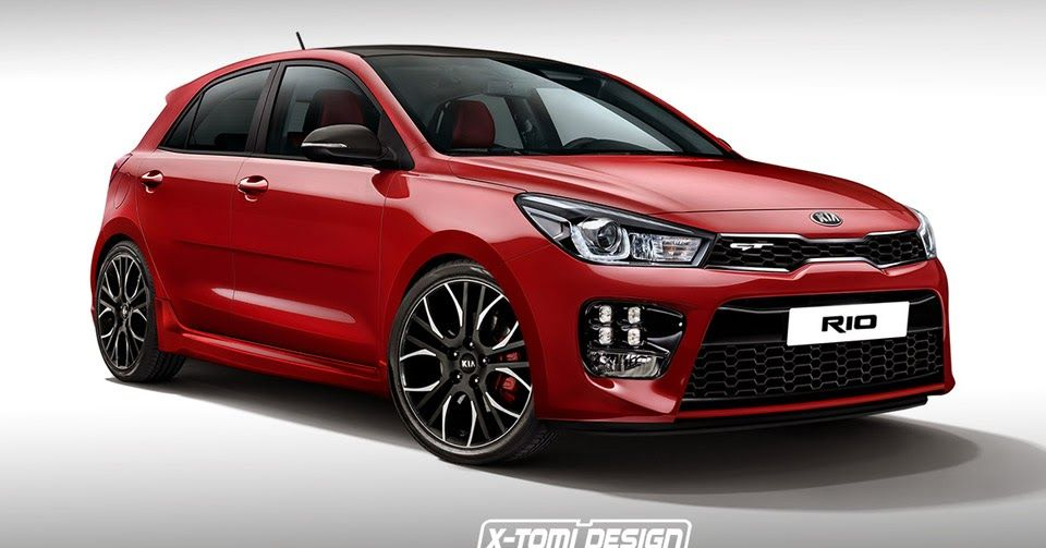 All New Kia Rio Suits Up In Virtual Gt Guise Already