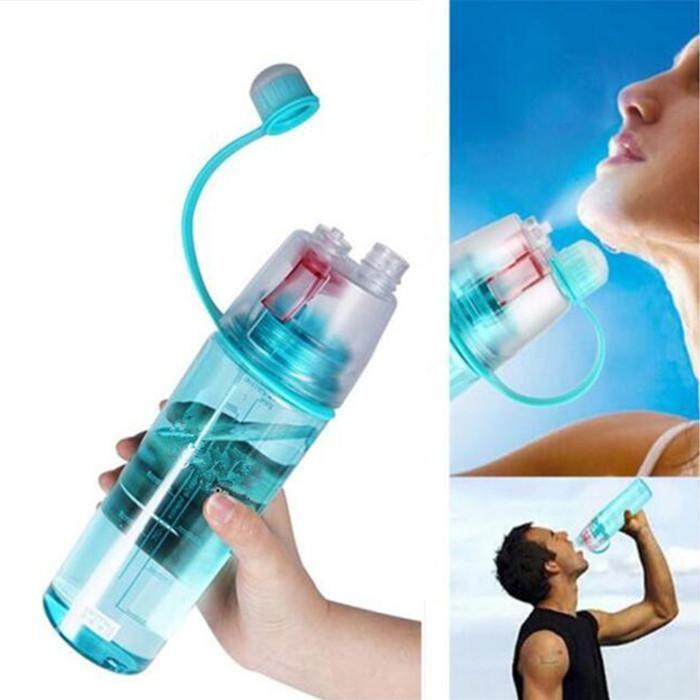 Workout Running Spray Water Bottles