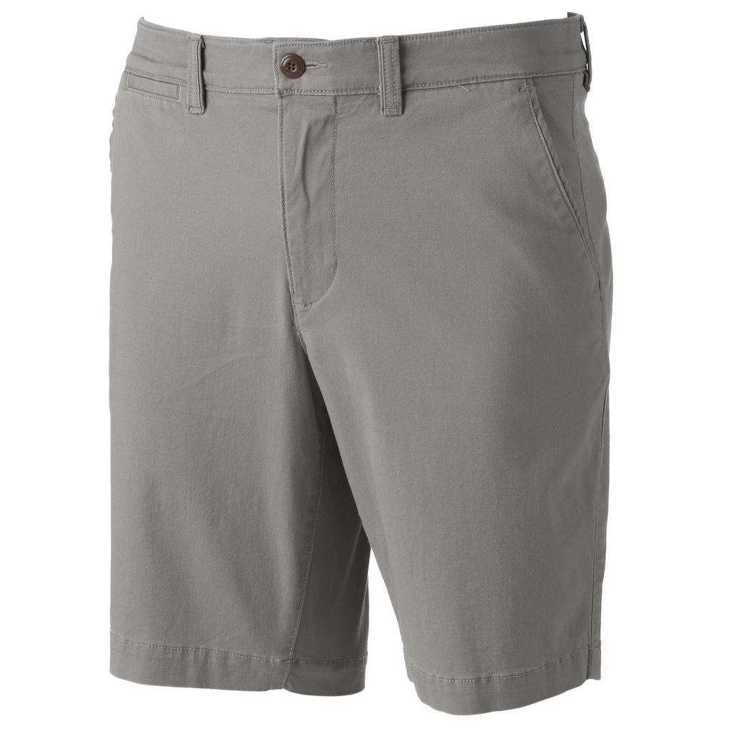 "b9ba918cb17a0 Men s SONOMA Goods for Lifeâ""¢ Flexwear Flat-Front Shorts"