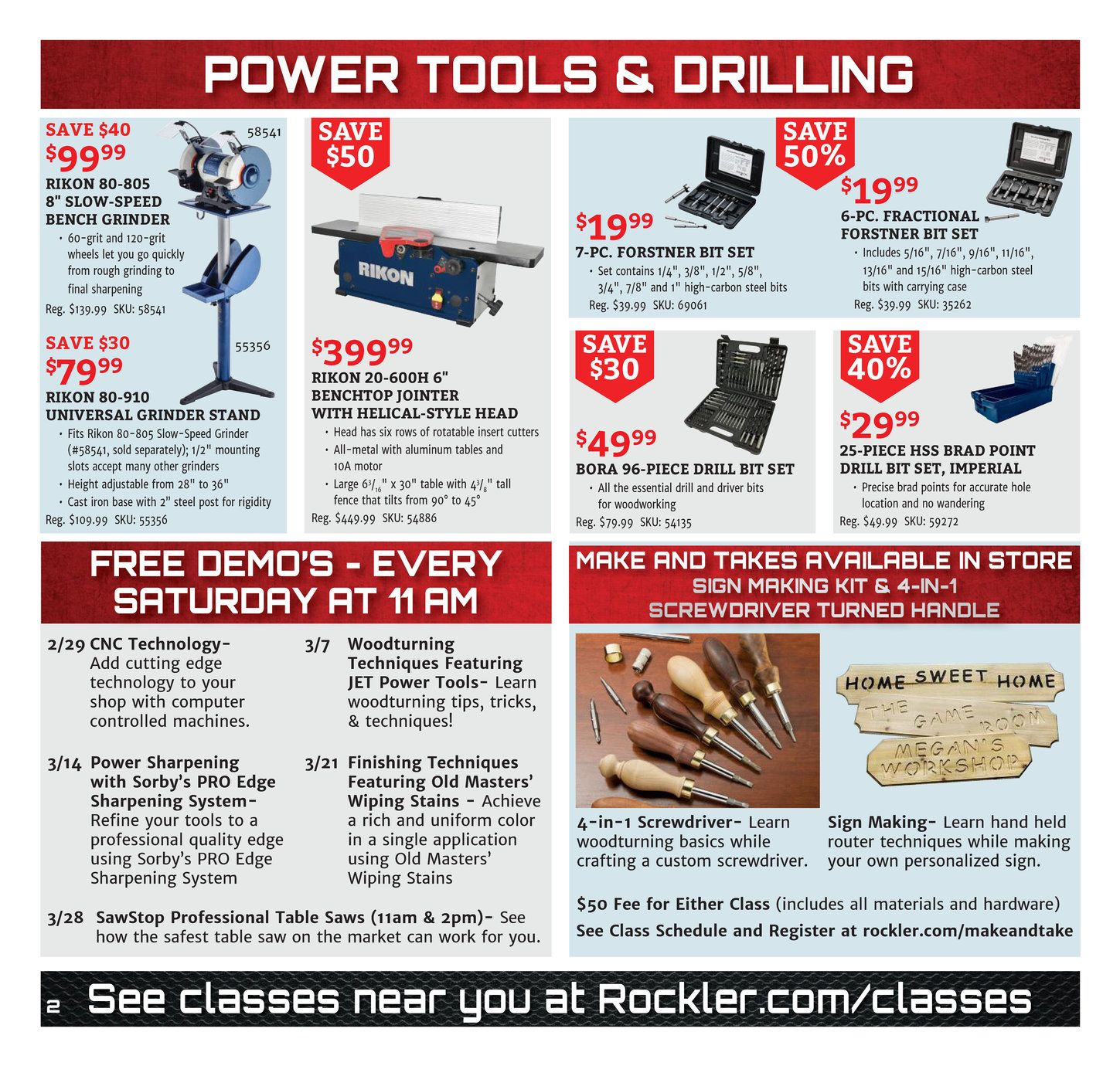 Rockler Flyer Power Plus Sale 2020 1 In 2020 With Images Power