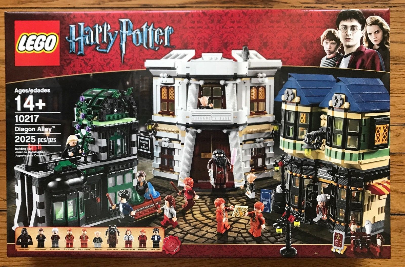 Brand New Lego Harry Potter Diagon Alley 10217 Lego Harry