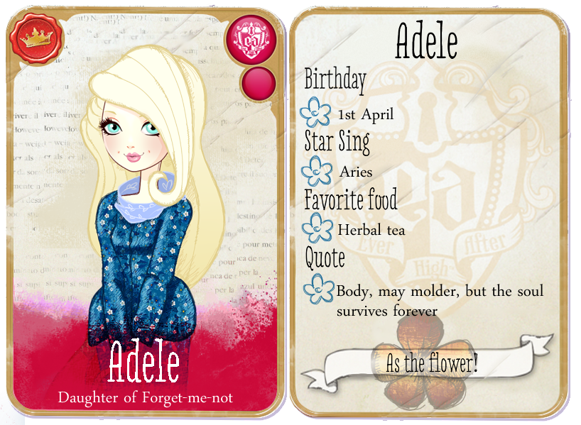 Ever After High Character Cards | ever after high ...