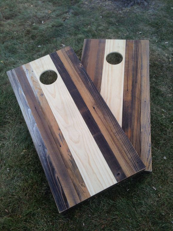 Superb Cornhole Game By ColoradoJoes New And Reclaimed Wood