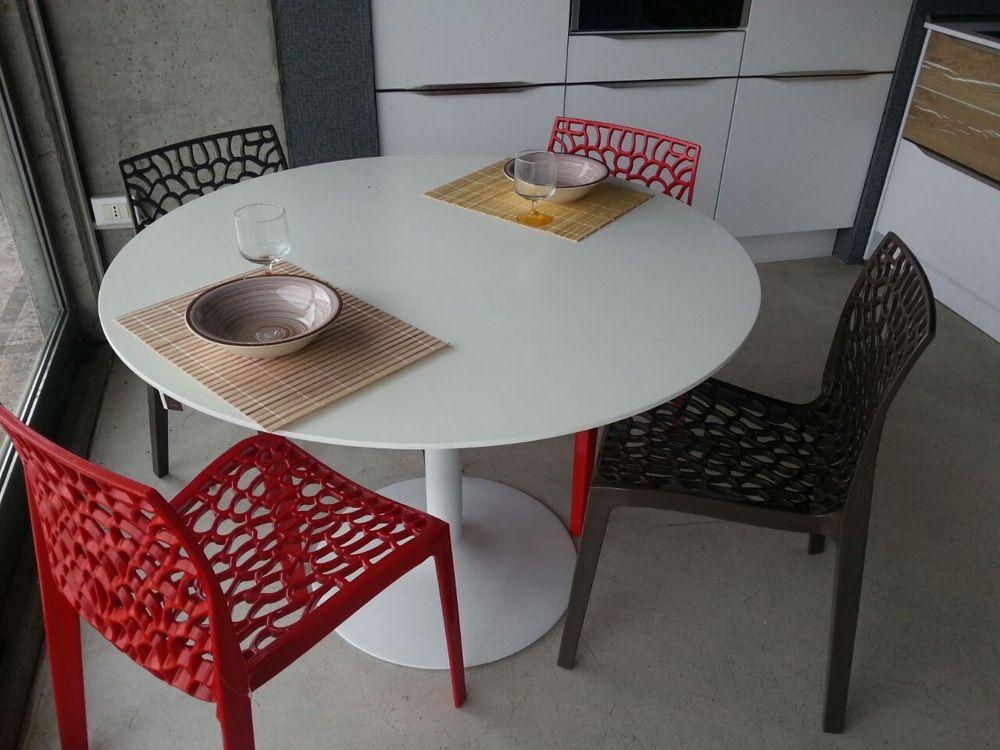 Sedie Groupon ~ Sedie per cucina in metallo e polipropilene modello tulipano