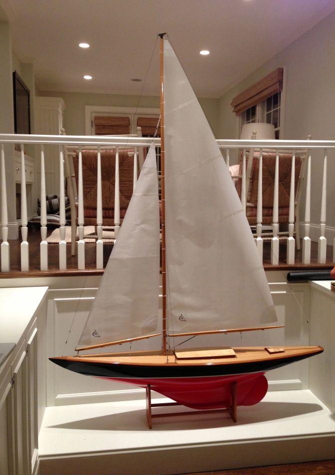 Beautiful. | Model sailboats, Model sailing ships, Wooden ...