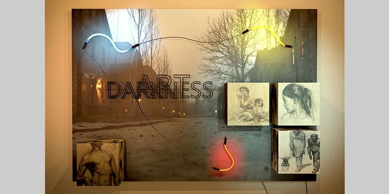 DARKNESS. YENY CASANUEVA Y ALEJANDRO GONZALEZ. PROYECTO PROCESUAL ART