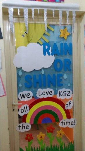 Classroom Decoration On Teachers Day : Weather theme classroom decoration ideas