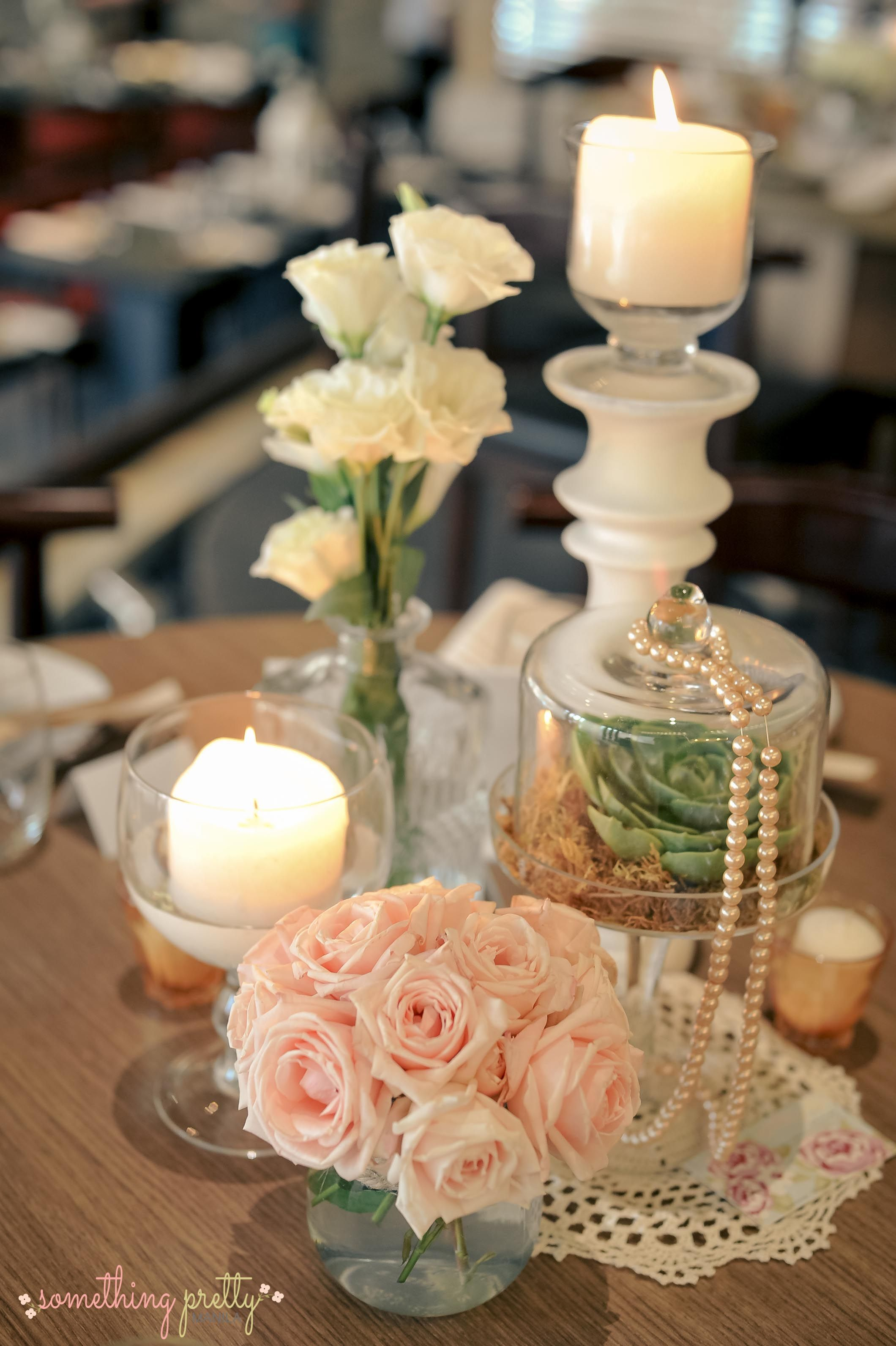 Table Centerpiece - Rustic Theme - Event Styling By Something