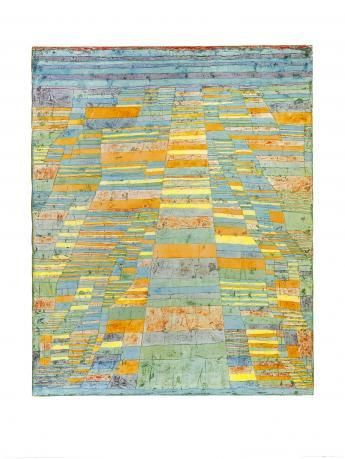 Hauptweg und Nebenwege, 1929 » Paul Klee » Kunst »
