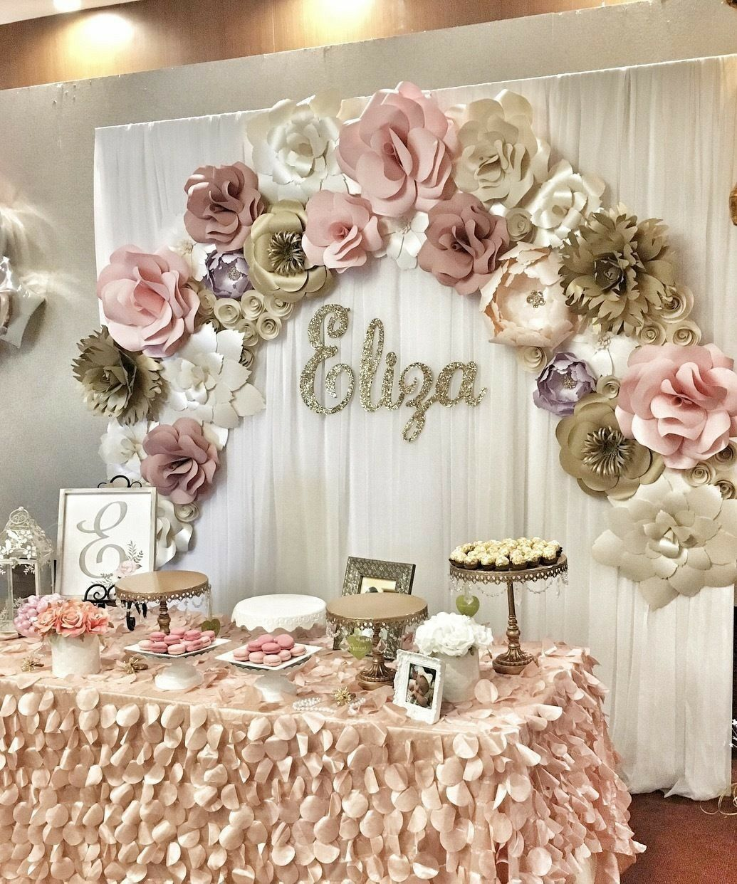 Pin by Amanda Navarrete on Flowers | Pinterest | Pearl baby shower ...