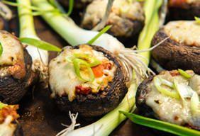 Sicilian Stuffed Mushrooms | Grilling recipes, Pellet ...