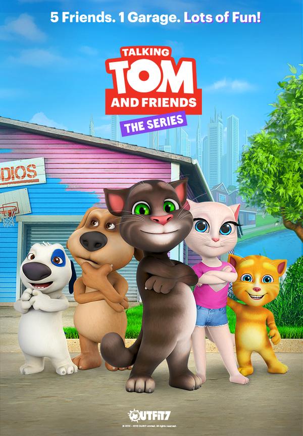 New Series Talking Tom And Friends From Talking Friends Desenhos Animados De Tv Bicho De Pelucia Desenhos Infantis